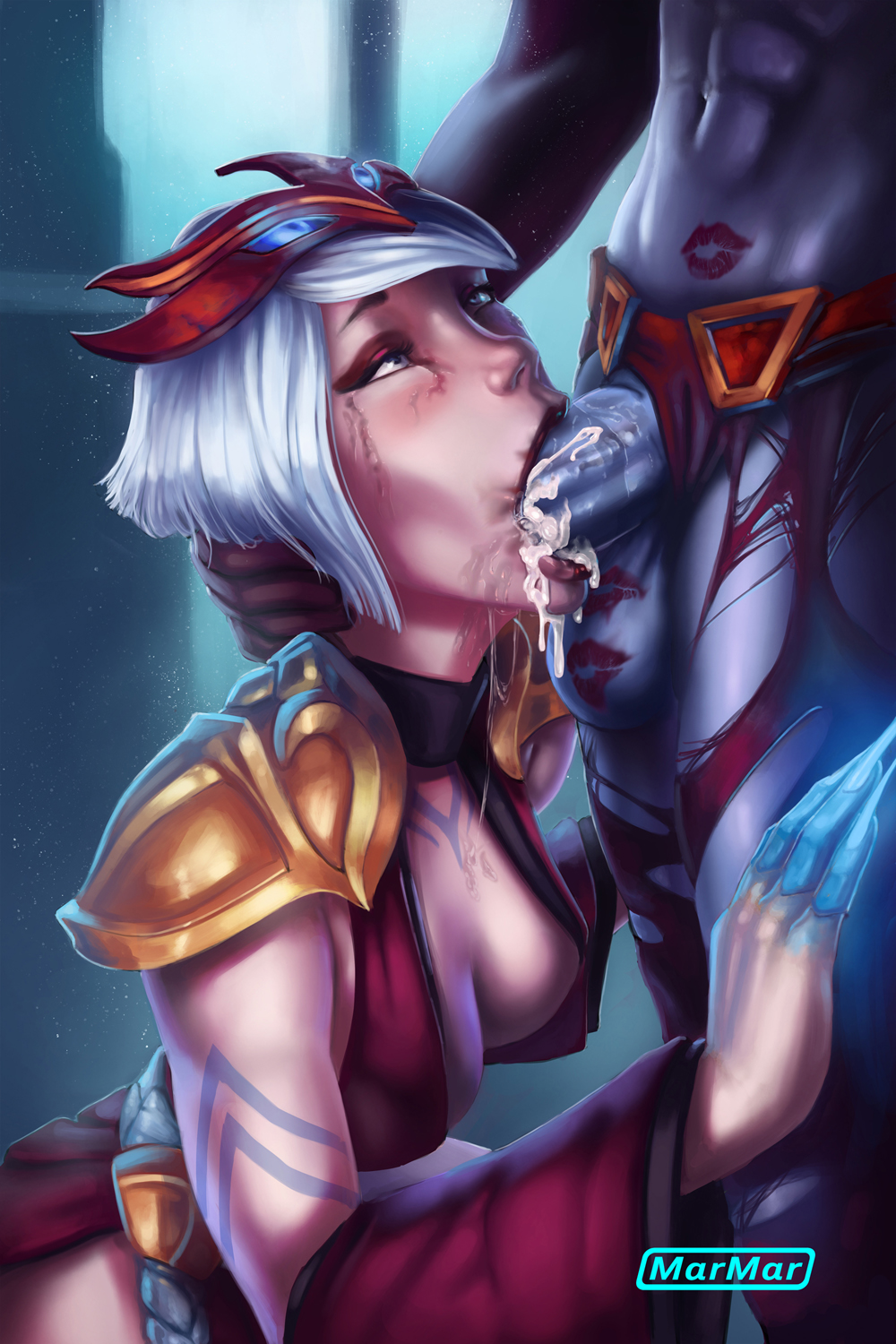 lana thel queen blood wow Orc-san and knight