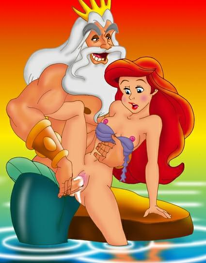 melody ariel and mermaid little the Family guy meg porn pics