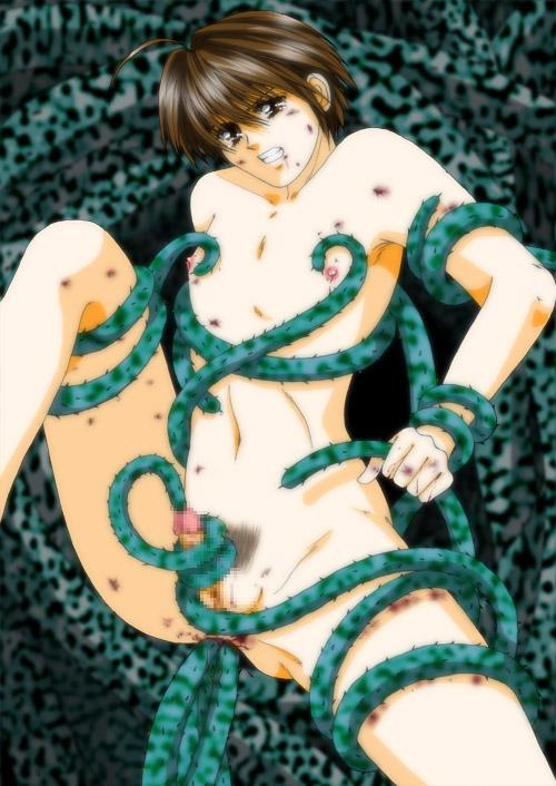 green tentacle mania of secret Sword art online sakuya hentai