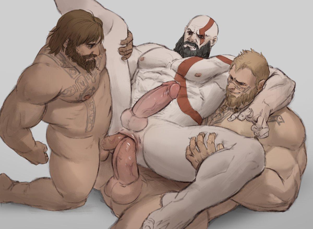 of sex 3 god war Pico from boku no pico