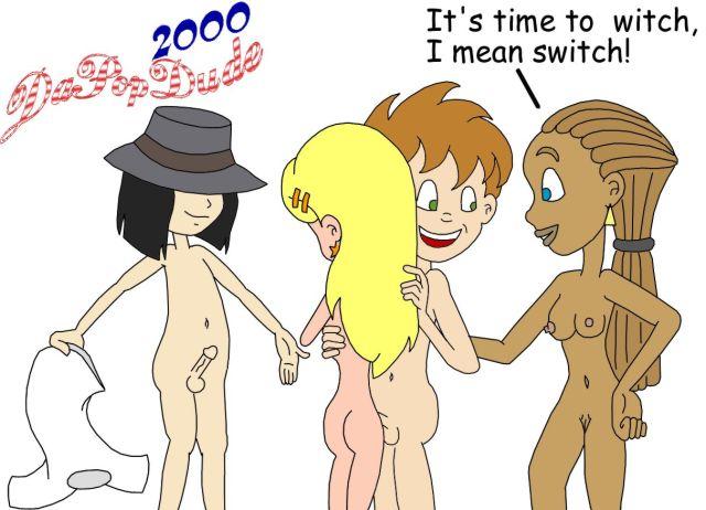 series animated sabrina: the Tales of androgyny