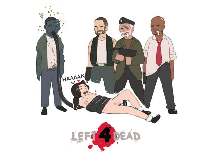left dead 2 smoker 4 Kedakaki seijo wa hakudaku ni somaru