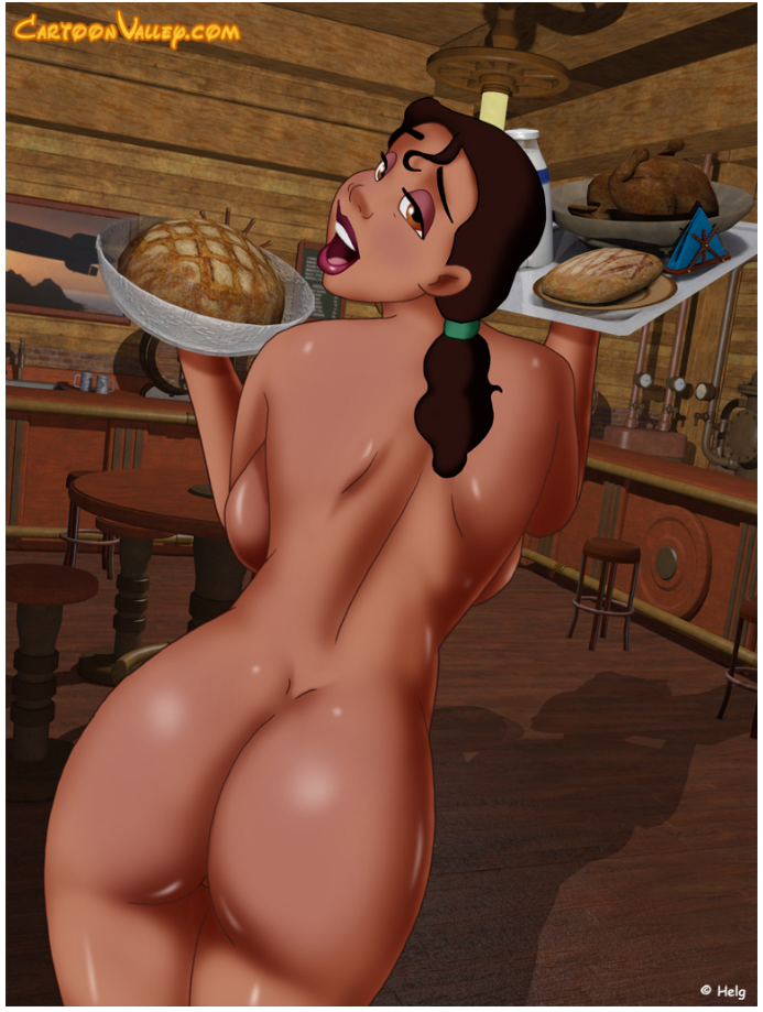 the princess nude and frog Final fantasy 8