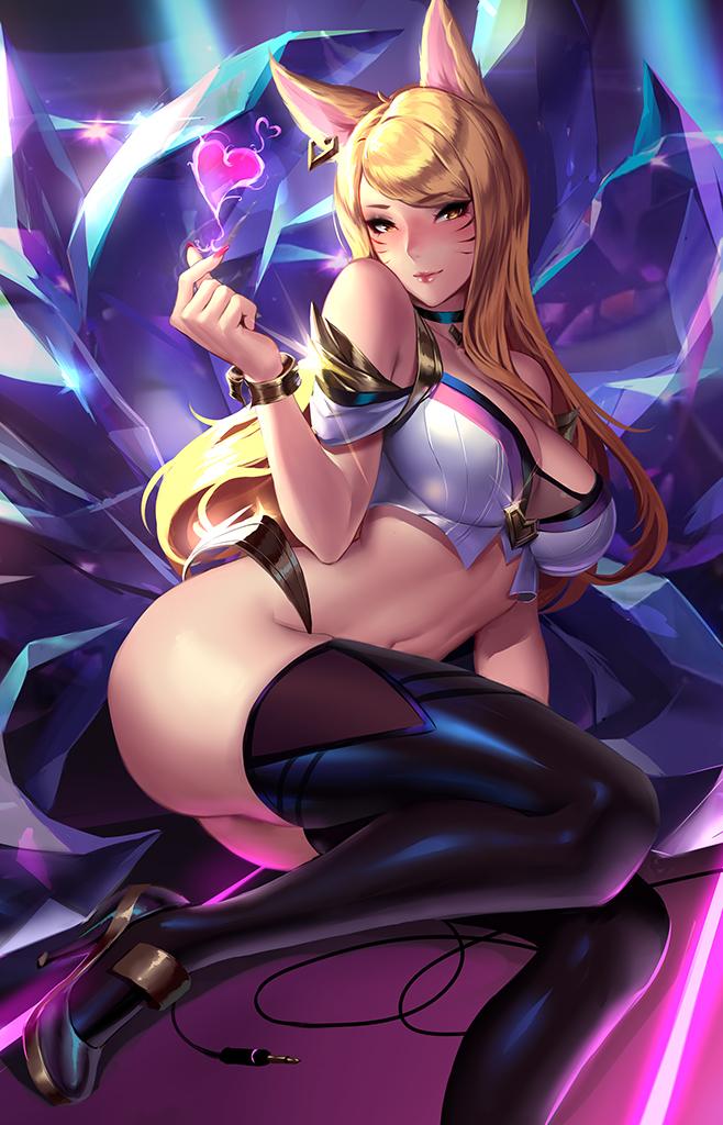 k/da Who is serena in pokemon