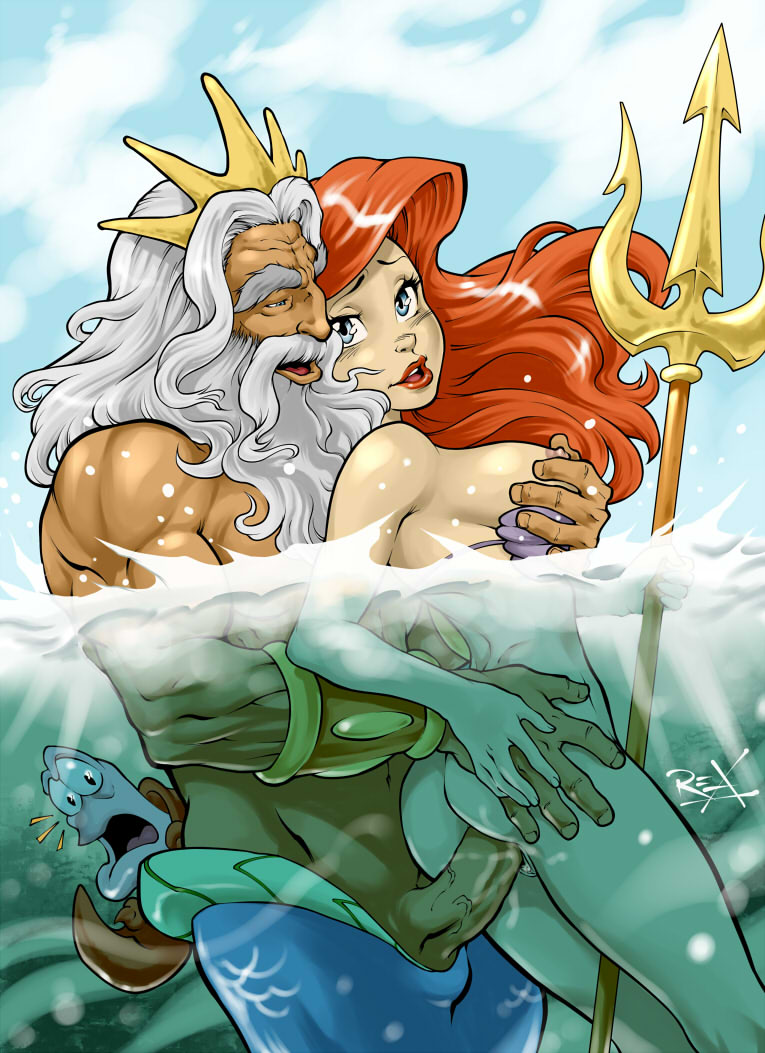 and mermaid ariel melody the little Taimadou gakuen 35 shiken shoutai opening