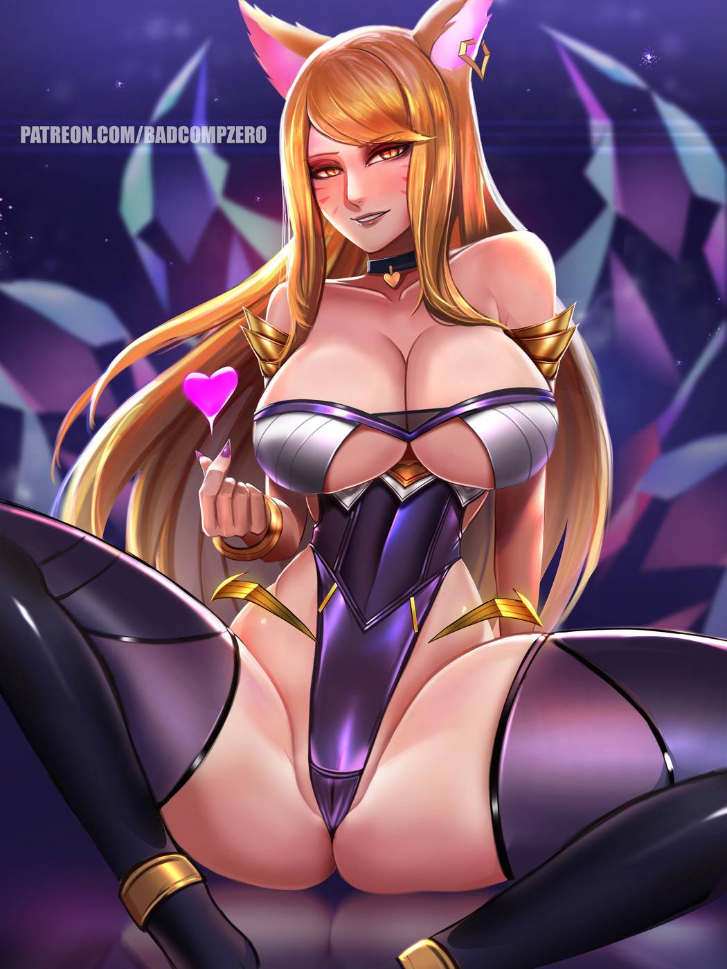 k/da Rouge the bat and shadow