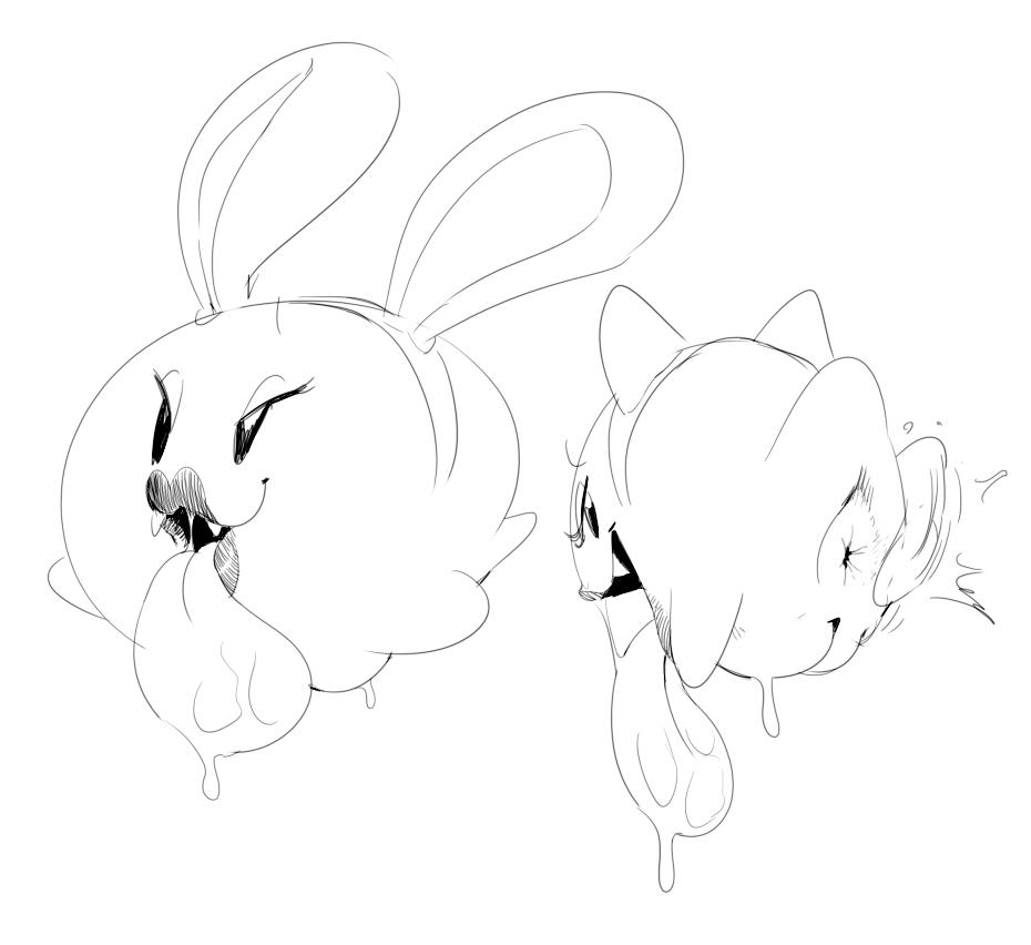 blue rabbit and cat rainbow Suki_de_suki_de,_suki_de