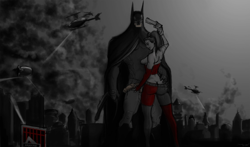 catwoman batman in get arkham city to how Pokemon sun and moon yuri