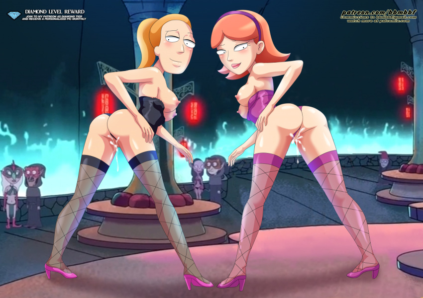 rick naked jessica and morty Pixxxel #003 everlasting orc r*pe