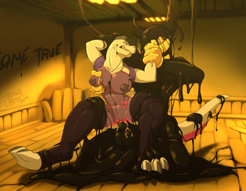 ink bendy of the images and bendy machine from You just posted cringe you are going to lose subscriber