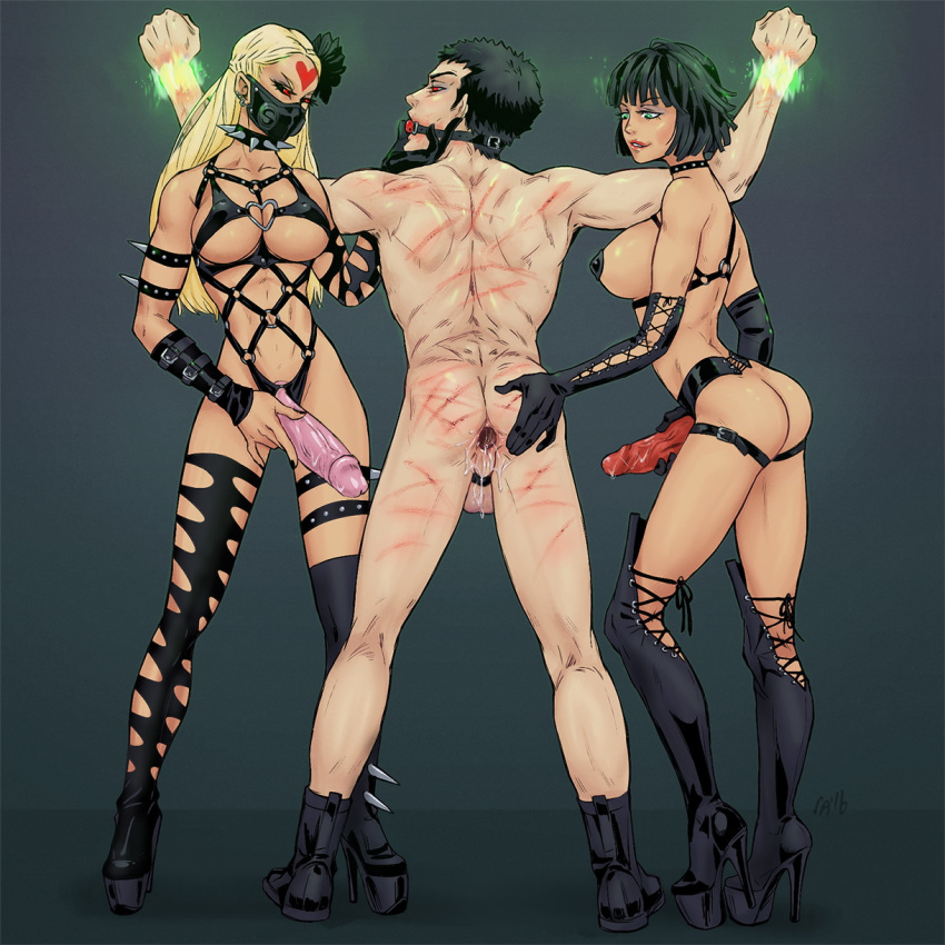 nude fubuki man punch one Trials in tainted space nayna