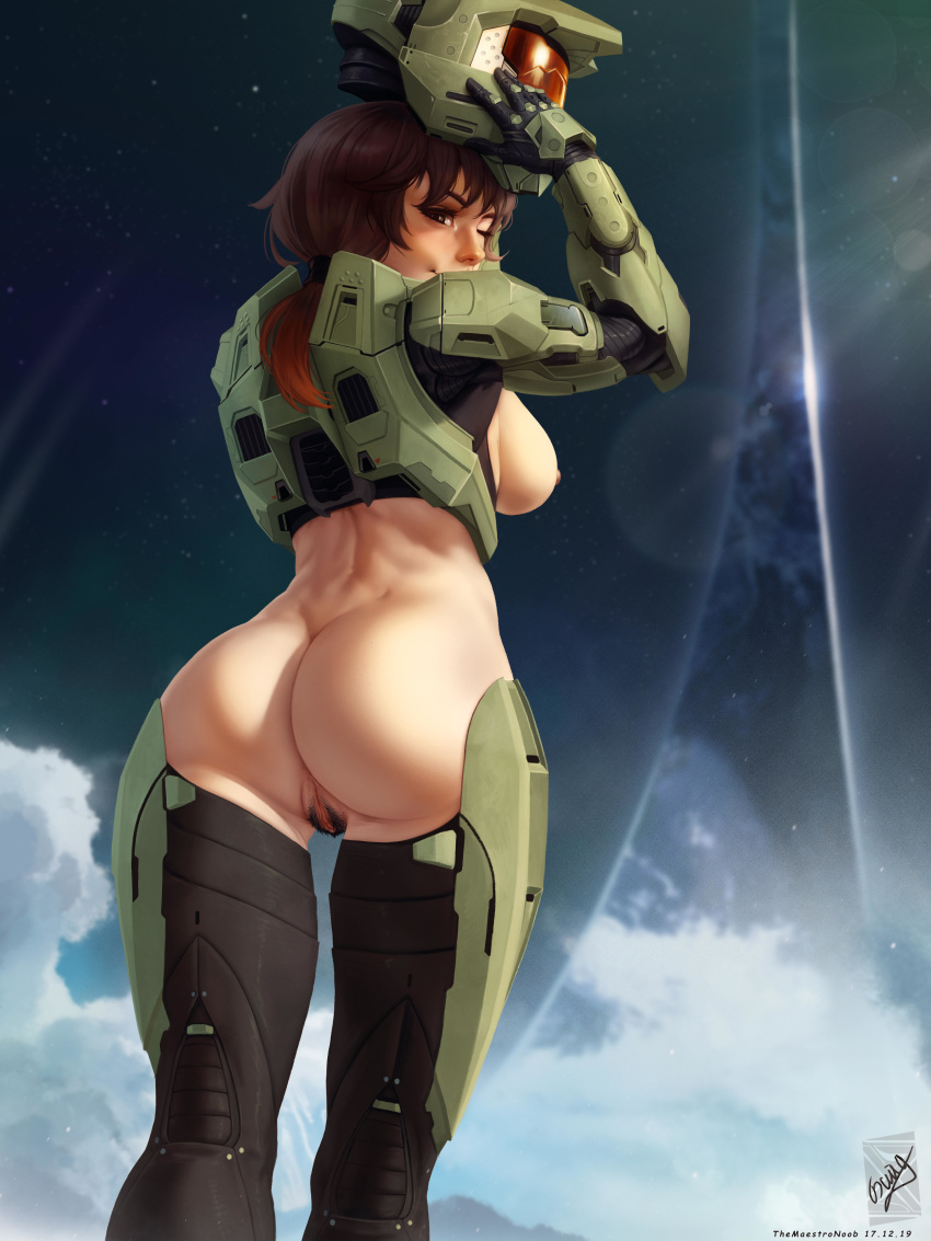 halo female 5 booty spartan Five night at freddy's mangle