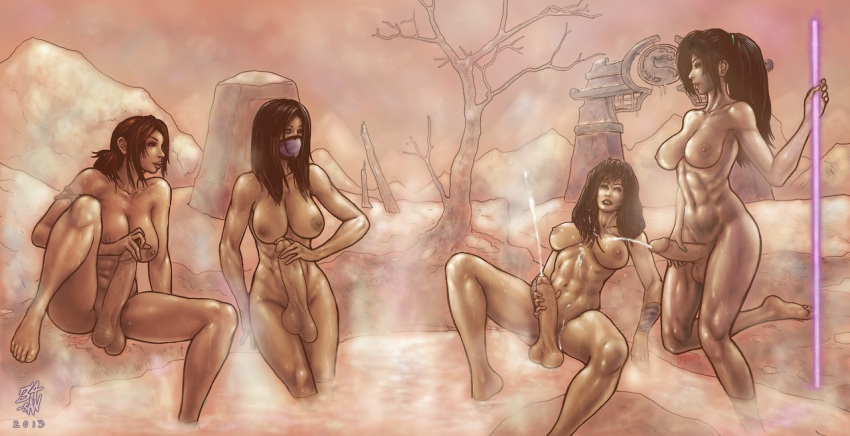 naked mortal mileena 9 kombat My little pony diaper pee