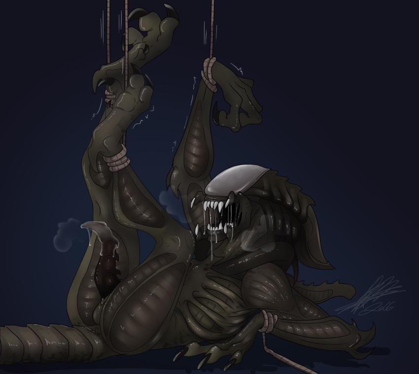 vs alien predator Spooky's jump scare mansion porn