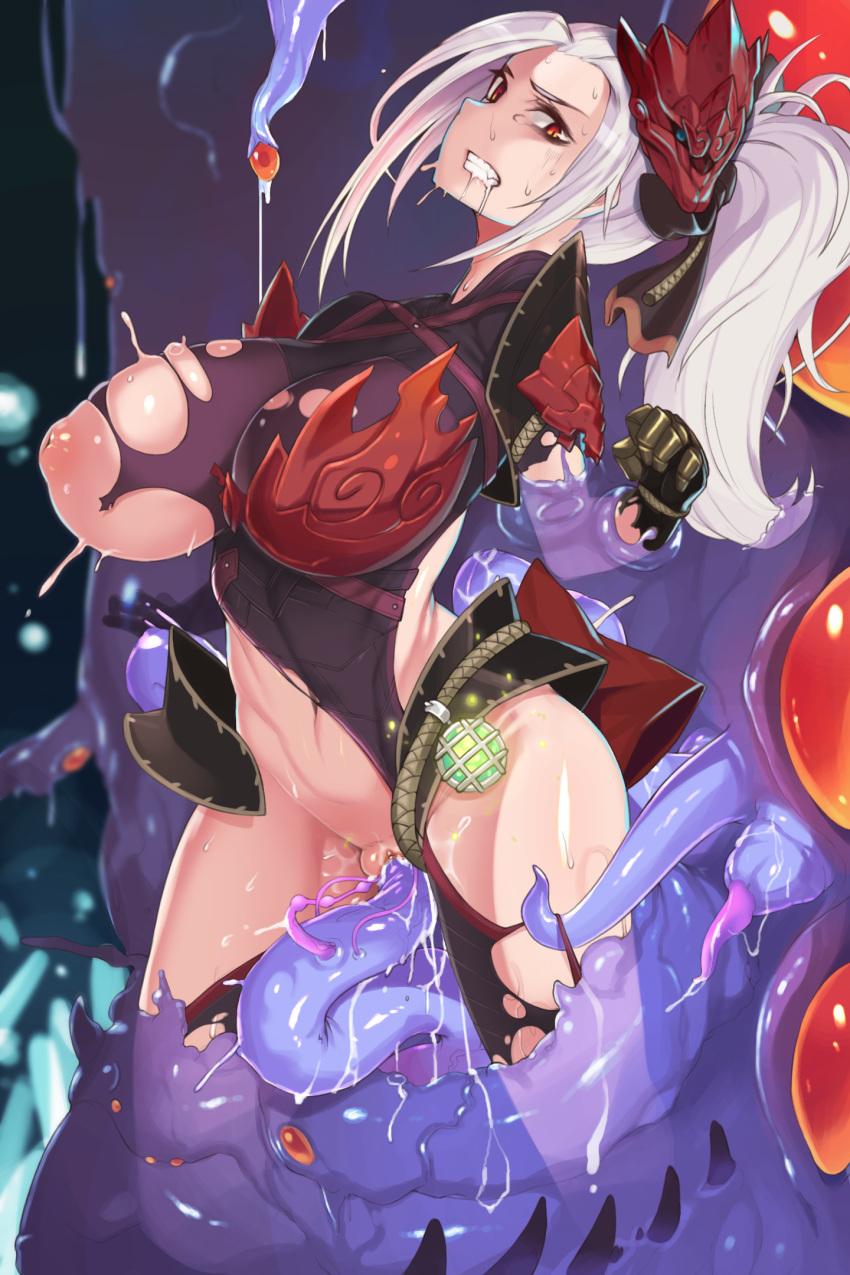 odogaron armor monster hunter world Sei shoujo seido ikusei gakuen