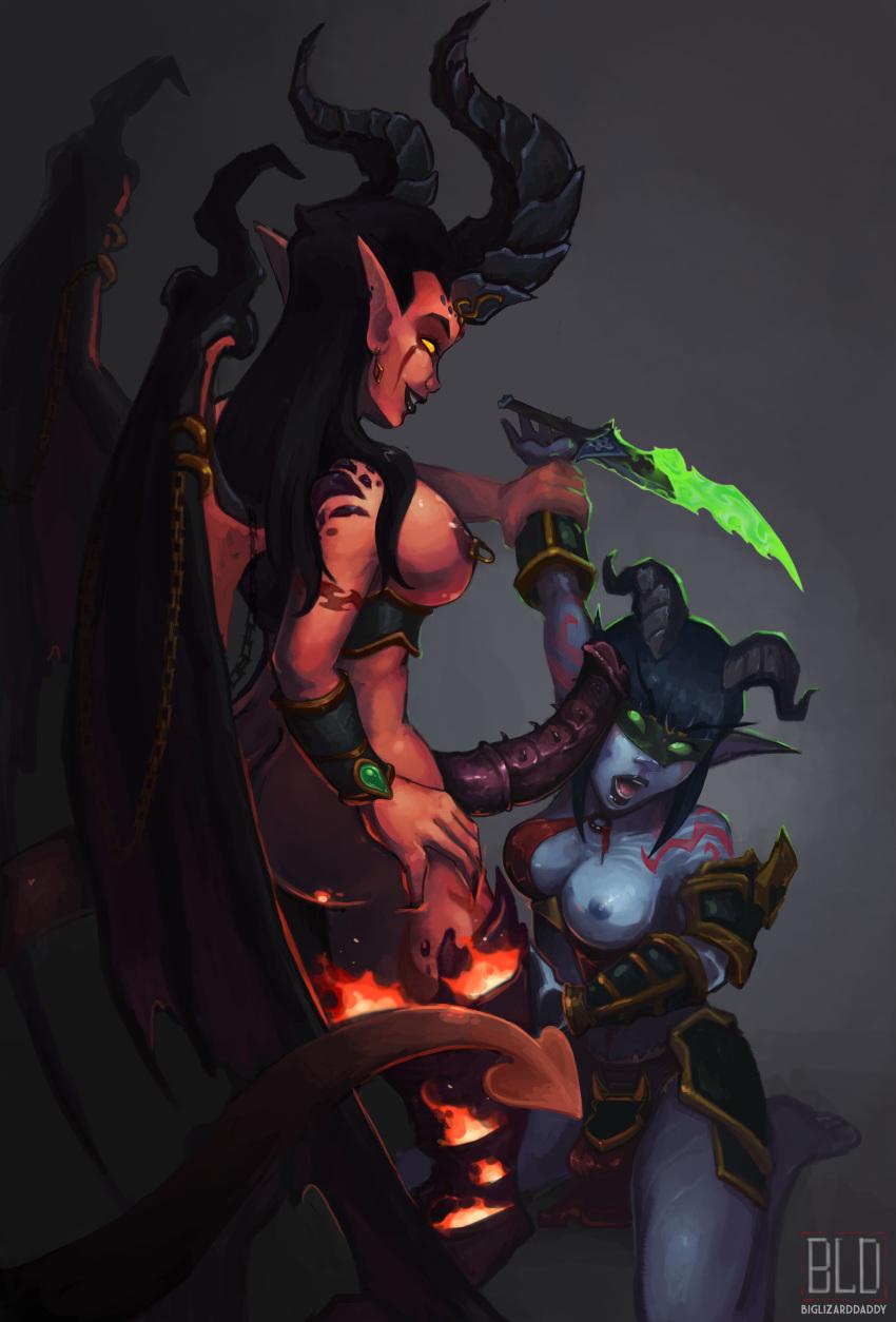 night demon hunter elf female Fate stay night caster hentai